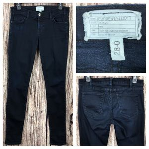 Current Elliot dark blue skinny jeans Sz 28